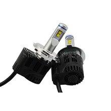 1 Para P6 110 Watt 10400LM Led-scheinwerfer Kit Umwandlung Canbus Glühlampen Luxeon MZ LED-chip H4 H7 H11 H13 D2 D1 HB3 HB4 9004 9007 9012