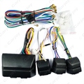 Universal Car Power Window 8PCs Switches With Holder And Wire Harness  #CA2469