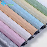 3 m/5 m/10 m textura de seda moderna papel de parede pvc vinil filme auto adesivo quarto crianças adesivos muraux à prova dwaterproof água