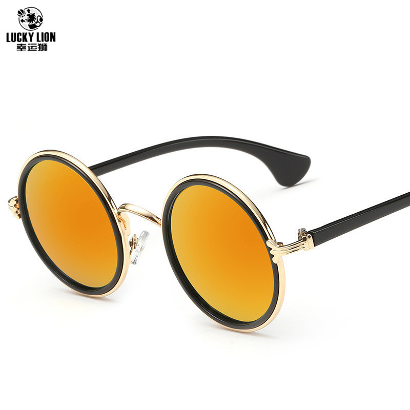 ac2faab4fa8 Detail Feedback Questions about Free shipping glasses New Fashion glasses  Women men Fashion retro roundness colours Girls Sunglasses summer colors  glasses ...