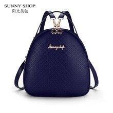 Солнечный магазин корейский стиль школы Рюкзаки маленький опрятный Школьные сумки для подростков Обувь для девочек плед рюкзак для обратно в школу Bagpack