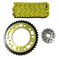 For HONDA CB 1300 2010 2011 2012 2013 Motorcycle Complete Sets Front & Rear Sprocket 530 Chain Kit