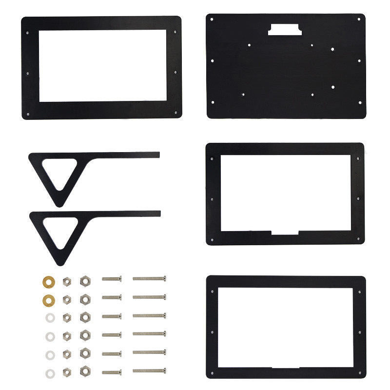 Image 5 - Raspberry Pi 3 B+ Starter Kit  7 inch 1024x600 Display + Case + Power Adapter + HDMI Cable-in Demo Board from Computer & Office