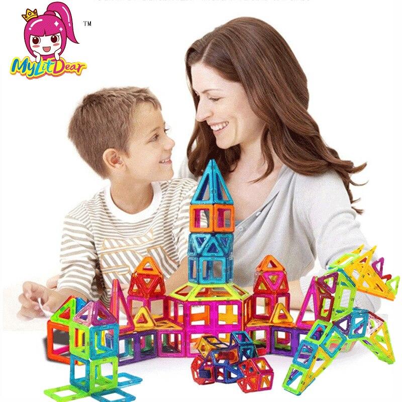 184 шт.-110 шт. Магнитная строительных Дети Магнитные игрушки Строительство Плитки блоки для детского творчества развивающие игрушки