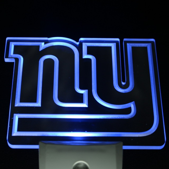 ws0093 new york giants logo bar beer day night sensor led night