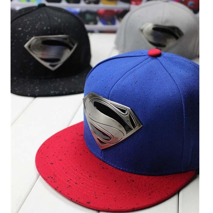 Jaunā zīmola beisbola cepures vīriešiem snapback superman S logo unisex cepure dimanta cepures hiphop modes dāvana vīriešiem un sievietēm
