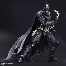 The Dark Knight Rises PA Kai Blue Black Batman Action Figure 27cm Marvel Bat Man Model Toy Doll Movable