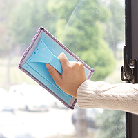 Cleaning glass magic cloth, door and window slideway, gap cleaning brush 21*13.5cm free shipping