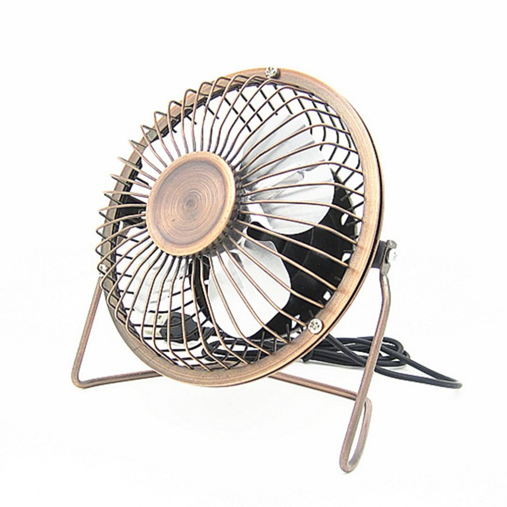 Portable 4-Inch USB Cooling Fan Small 4 Blades Desk USB Cooler Super Mute Silent Mini Car USB Fan For PC / Laptop / Notebook fan usb cooler cooling desk mini fan portable super mute pc usb notebook laptop computer with key switch