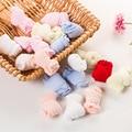 5 Pares de Calcetines de Bebé Niños de 0 a 3 Años Del Bebé Muchachas de Los Muchachos Del Verano Del Bebé Niños Calcetines Calzado 6 Colores