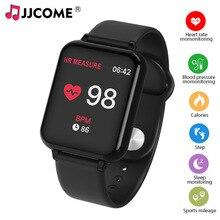B57 Smart Band Blood Pressure Watch SMS Remind Sport Music Player Fitness Activity Tracker SmartBand Wristband PK P68