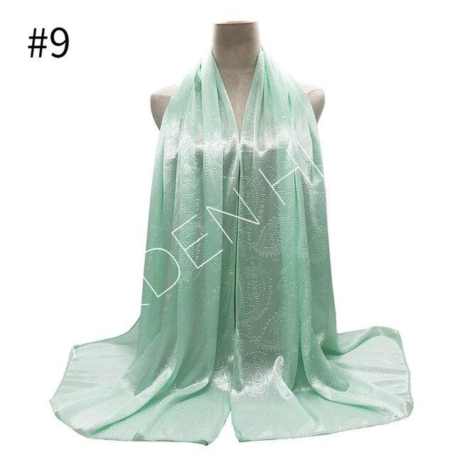 020 Scarf,Scarves,Wrap,Long,Green,Purple...Silky Chiffon Paisley Style Scarf