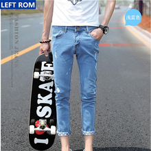 Cotton Mens Jeans New Fashionable Comfortable Men Selling Popular Cowboy Trousers Hot Sale Ankle Length Pants Size 28 29 30-36