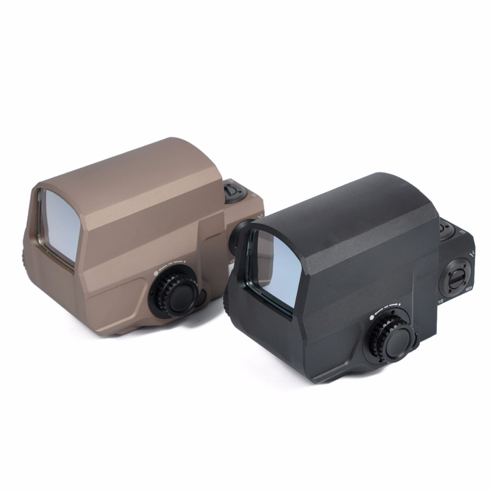 Holographic LCO Style Red & Green Dot Sight 1 MOA Aiming Dot Scope 1x Hunting Scopes Fit 20mm Weaver Picatinny Rail wipson outdoor hunting 558 33 holographic red green dot sight rifle scope for 20mm weaver rail mounts black color