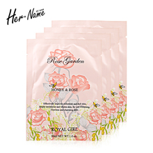 Her name Silk mask facial repair face mask Firming beauty facial Significant effect moisturizing whitening skin care