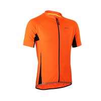 New Arrival Men Short Sleeve Cycling Jersey With Full Zipper Quick Dry Road Mountain Bike MTB