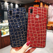 Rhinestone Glitter Case For Huawei Mate 20 10 9 Pro Y6 Y7 Prime Y9 2018 Honor 7A 7C 8X Nova 3 P20 Lite Bling Sequins Soft Cover(China)