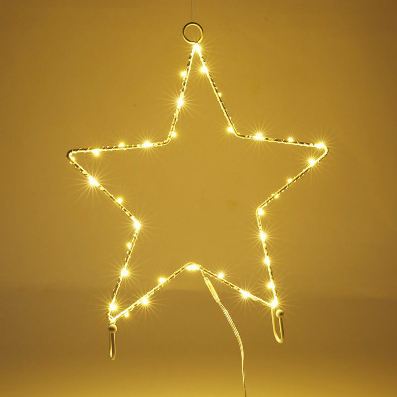 LED Star/moon/cloud Sign Shaped Decor Light,Wall Decor for Christmas ...