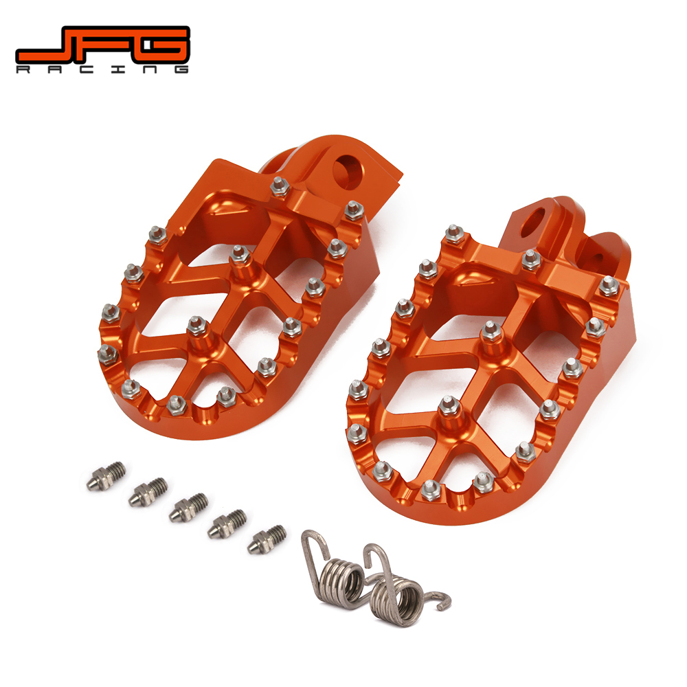 Motorcycle Offroad CNC Foot Pegs Pedals Rests For KTM FREERIDE 250R 14-17 FREERIDE350 12-17 950SUPER ENDURO 990ADVENTURE ALL