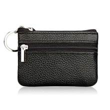 New Hot PU Leather Coin Purses Women's Small Change Money Bags Pocket Wallets Key Holder Case Mini Pouch Zipper YAA99