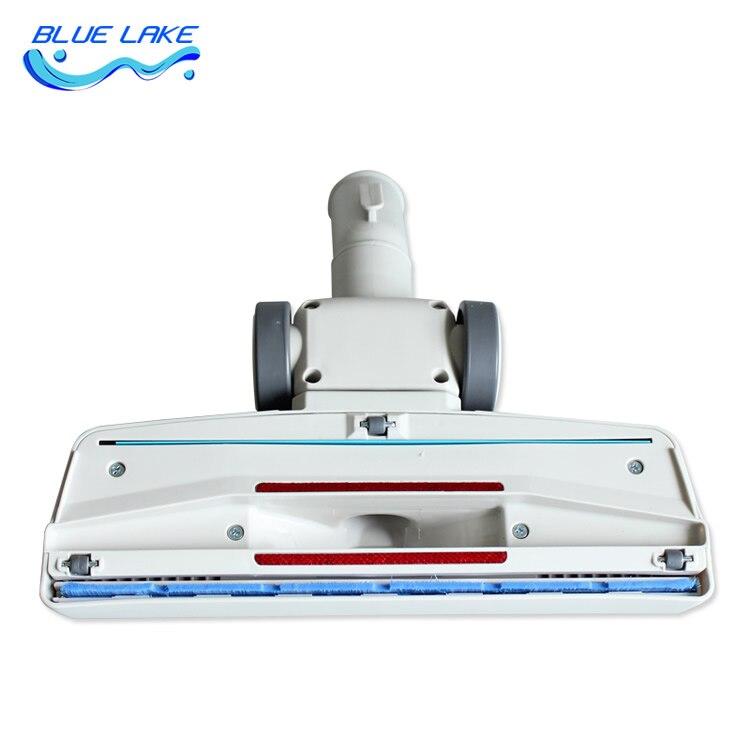 Universal model,White Vacuum cleaner floor/Carpet brush,with wheels,interface inner diameter 32mm,Vacuum cleaner parts 32mm diameter vacuum cleaner parts with pp hair 265mm zl1500 1zl1500 2zw1200 221 carpet brush