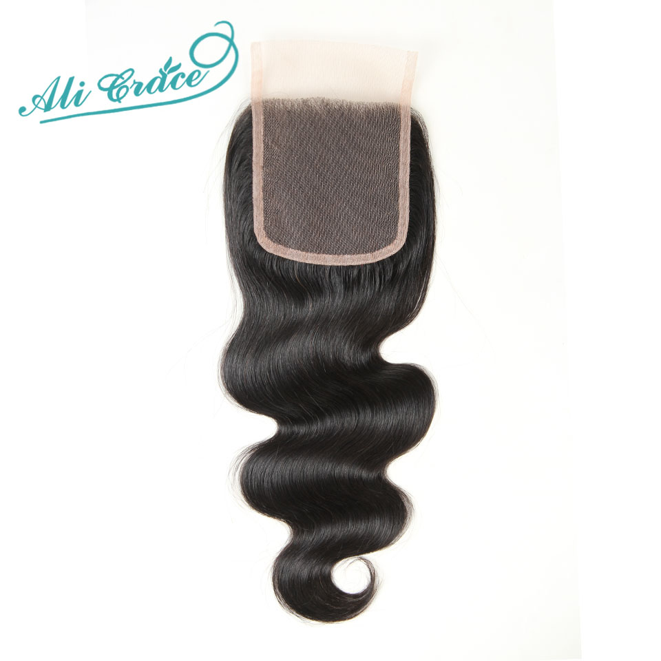 ФОТО Brazilian virgin hair closure brazilian body wave middle part  free part 2 options Brazilian lace closure 4*4  10 to 24inch