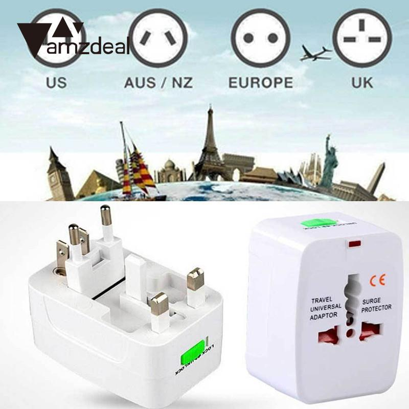 amzdeal Universal AC Power Adapter Converter Sockets World Travel Home Travelling Power Supply Electrical Socket