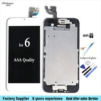 Full LCD Assembly For IPhone 6 6G Touch Screen Digitizer Display Set Home Button Front Camera