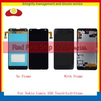 10pcs DHL High Quality 4 7 For Nokia Microsoft Lumia 550 Full Lcd Display With Touch