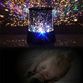 New 9 Design Galaxy LED Light Star Master Sky Projector Children Fantastic Night Light Colorful Magic Novelty Light for Kid Gift