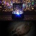 Nuevo 9 Diseño Galaxia Luz LED Amo de la Estrella del Proyector de Cielo niños Fantástico Luz Colorida de La Noche Mágica Luz de La Novedad para el Cabrito regalo