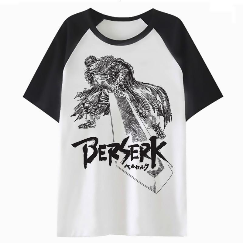 Berserk   t     shirt     t  -  shirt   tee harajuku top tshirt clothing funny hop for men male hip streetwear F4063
