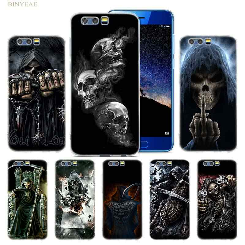 Grim Reaper Skull Skeleton Case for Huawei Honor 8 9 10 lite 7X 6A 6X 6C Pro Silicone Soft TPU Coque Capa Cover Phone Shell Hot