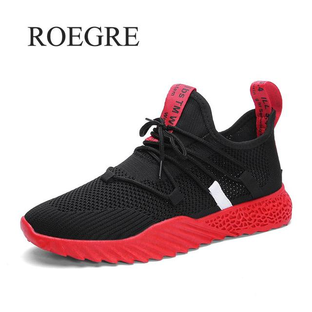 2019 New Casual Shoes Men Breathable Autumn Summer Mesh Shoes Sneakers Fashionable Breathable Lightweight Movement Shoes 1