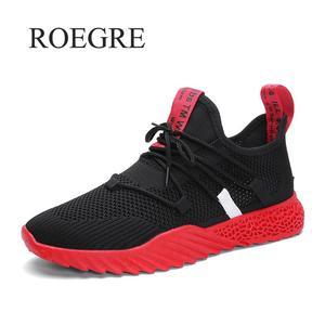 Image 2 - Baskets en maille pour hommes, chaussures de mouvement légères respirantes, à la mode, pour automne et été 2019, collection chaussures décontractées