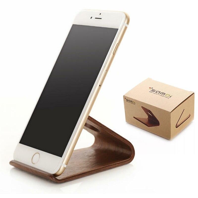 Γνήσιο ξύλινο στήριγμα βραχίονα καφέ - Ανταλλακτικά και αξεσουάρ κινητών τηλεφώνων - Φωτογραφία 1