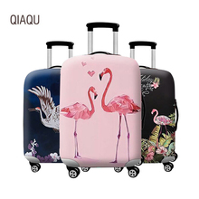 Case Dust-Cover Travel-Accessories Fabric-Luggage Trolley Suitable18-32inch Fashion QIAQU