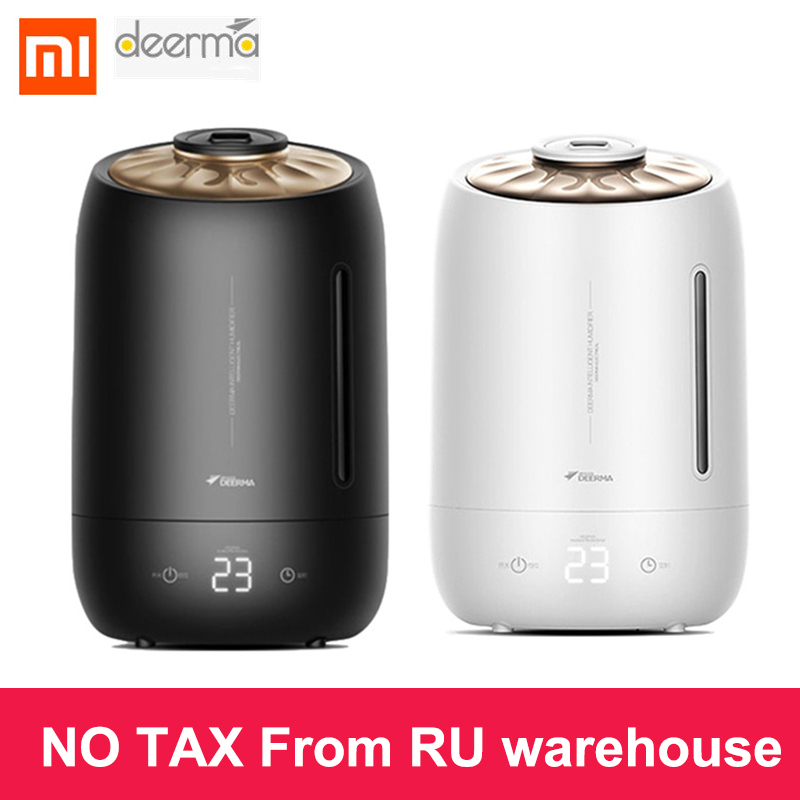 Xiaomi Deerma F600 5LSMARTMI Air Humidifier Aroma Diffuser Household Mist Maker Fogger Purifying Humidifier Oil Timing