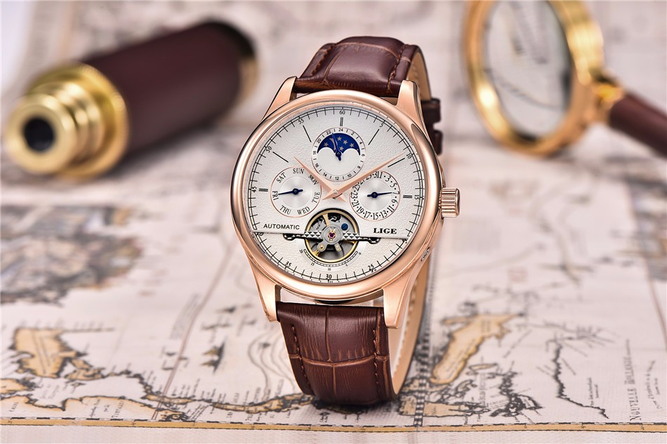 relógio de pulso ouro relojes hombre