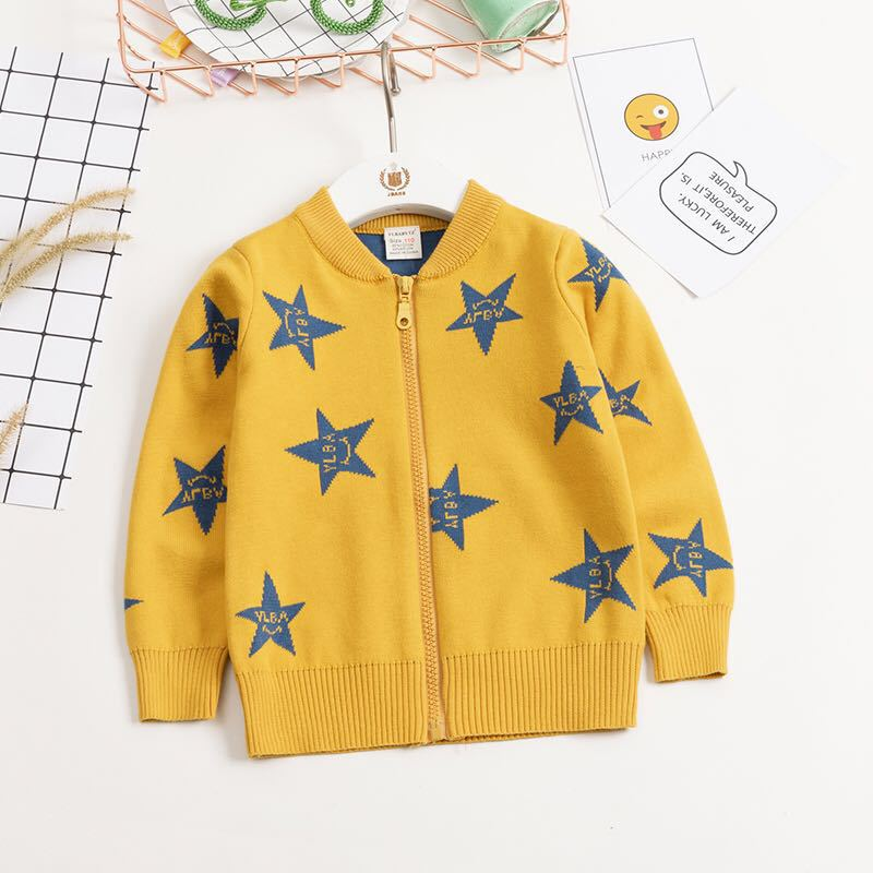 5cebd376f06c Autumn Kids 7 colors cardigan coat boy sweaters candy colored 100 ...