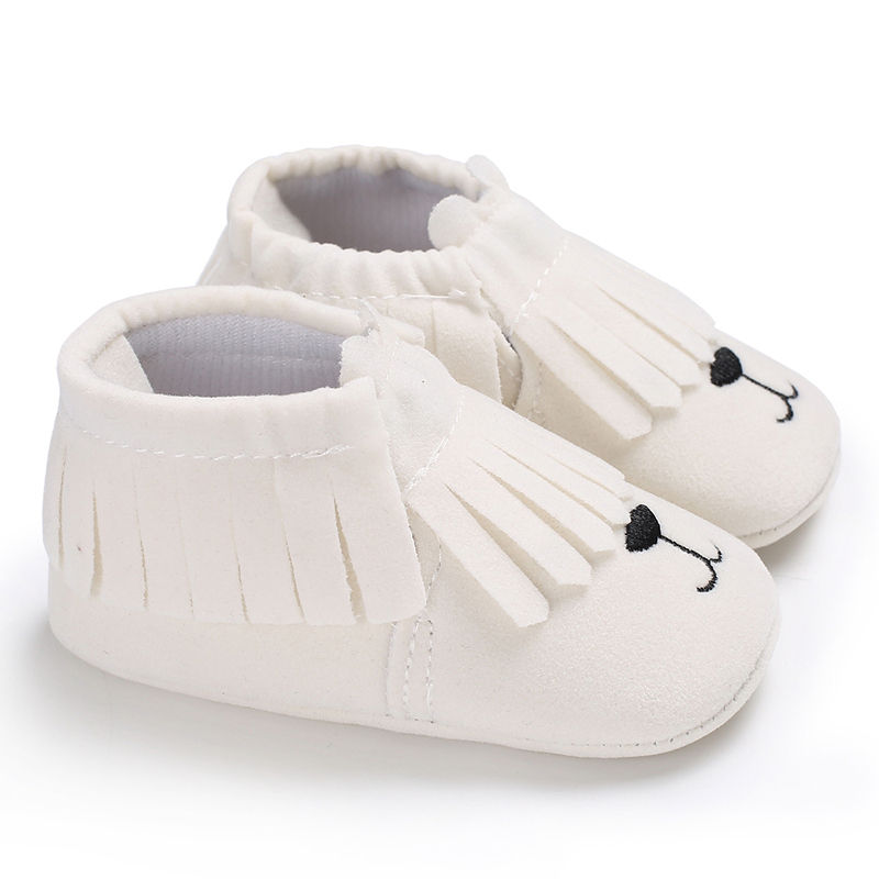 Brand Spring Baby Shoes PU Leather Carto