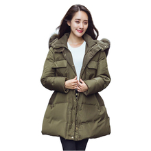 New Winter Coat Liner Europe Female Thickened Large Size font b Women b font Cotton Padded