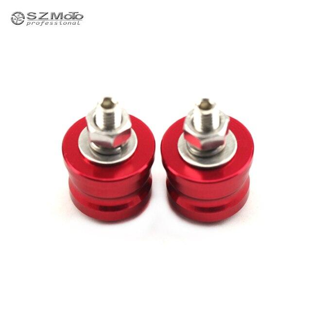 License Plate Screws Ornamental Screw For SUZUKI DRZ 400/S/E GSR 400/600/750 GSR600 Motorcycle Accessories Rear Fender 6mm