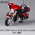 1:12 2013 Flhrc Electra Glide Ultra Limited Motorcycle Diecast Harley Flhrc King Classic Toys Collection Gifts for Children