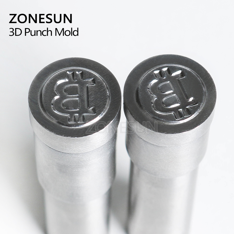 ZONESUN Customized Tablet Press Die Mold Single Punch Stamp Mould Sugar Candy Tablet Press Mould TDP0/1.5/3 for tablet machine metal manual grommet press machine 6 8 10mm die mould 3 000 1000x3 eyelet supplies making banner flag