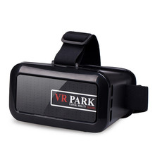 VRPARK-V2  3d virtual reality glasses headset VR glasses mobile games digital helmet movie DVD box