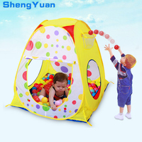 1PCS Foldable Baby Tent Play Balls Toy Pool Children Game Garden House Outdoor Camp For Kids Portable Balls Great Gift Games