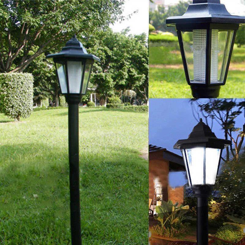 ĐÈN LED Năng lượng mặt trời Ánh Sáng Sân Vườn Ngoài Trời Bãi Cỏ Phong Cảnh Đèn Trợ Sáng Con Đường Đèn