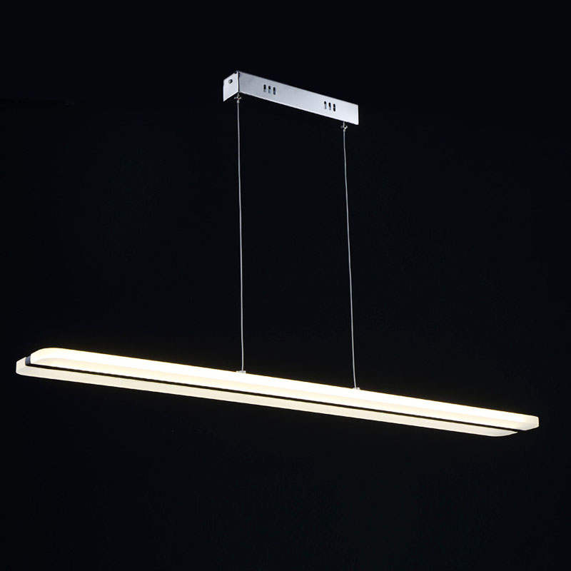 Mode acrylique suspension LED bureau/maison pendentif lampe lamparas de techo colgante par comedor luminaire suspension