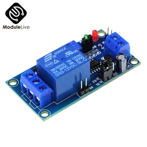 High Quality DC 12V Timer Delay Relay Adjustment Potentiometer Turn ON / Delay Turn OFF Switch Module With Timer(China)